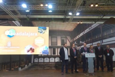 Diputación da a conocer en FITUR los múltiples atractivos de la provincia con Viaje a la Alcarria y el Geoparque