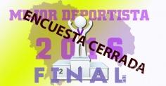 ENCUESTA   Finaliza la votación para elegir al mejor deportista de 2016
