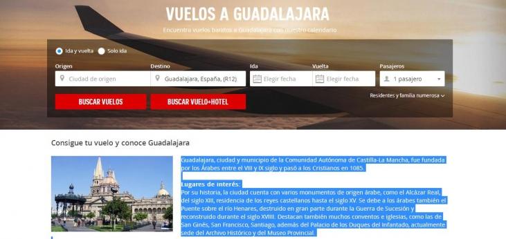 Calendario Atrapalo.Atrapalo Promociona Vuelos A Guadalajara La Nuestra No La De