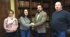 Primer encuentro de trabajo con la nueva presidenta de ACEPA, Marta Sánchez