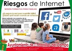 Ayuntamiento de Cabanillas y centros educativos organizan una sesión sobre riesgos de internet y riesgos sociales