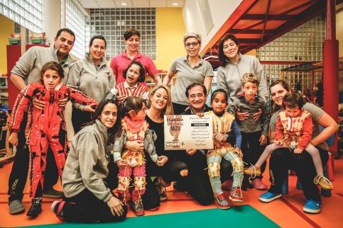 La II carrera solidaria de Mizu recauda 6.000 euros para la Fundación Nipace
