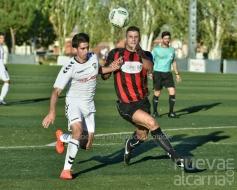 El Albacete B frena la racha del Azuqueca