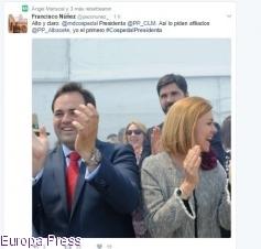 Destacados altos cargos del PP C-LM se vuelcan en Twitter pidiendo a Cospedal que siga liderando el partido en la región