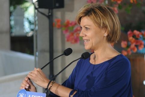 Cospedal aspirará a revalidar la presidencia del PP de Castilla-La Mancha