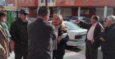 Concejales del PP visitan los barrios de La Estación y El Pobo para conocer sus problemas