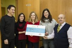 Ademgu recibe 3.000 euros en el I Día Solidario de las Asociaciones de Trillo