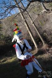 Una primavera anticipada recibe a las botarga y mascaritas de Almiruete