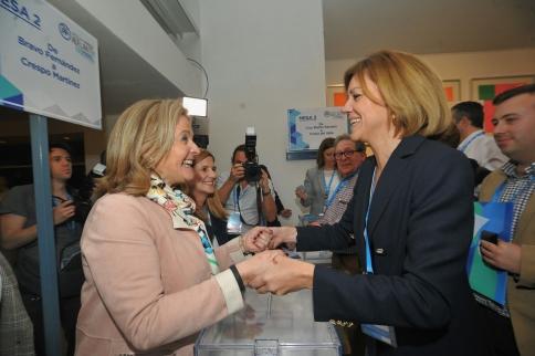 """Guarinos y Román destacan que del Congreso regional del PP """"sale un partido más fuerte y unido"""