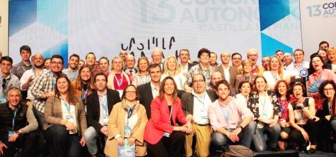 Cospedal ha sido reelegida presidenta del PP de Castilla-La Mancha con el 96,12% de los votos