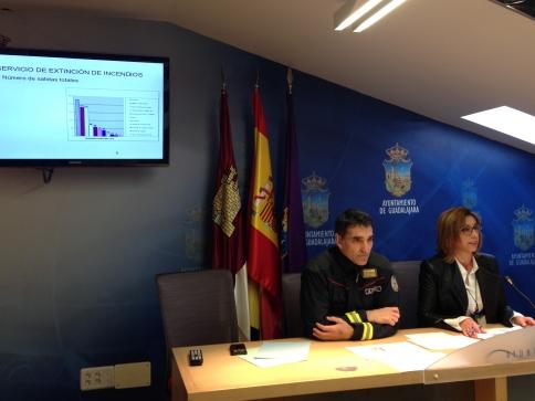 Los bomberos de Guadalajara realizaron 824 salidas el año pasado