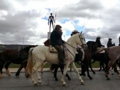 Este sábado, tercer 'Paseo a Caballo' del Bodegón de Sancho