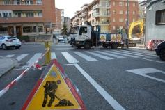 El miércoles, corte de suministro de agua en diversas calles por las obras de mejora en la calle Sigüenza