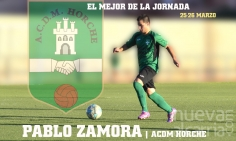 Pablo Zamora, el mejor de la jornada