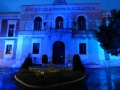 La fachada de la Diputación se iluminará de azul este fin de semana con motivo del Día Mundial del Autismo