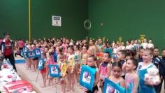 Más de 200 gimnastas en la segunda fase del Circuito Provincial