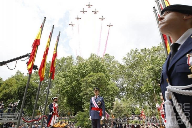 Los Reyes presidiran en Guadalajara el Día de las Fuerzas Armadas, el 27 de mayo