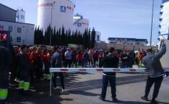 Los trabajadores de Logista Libros inician la huelga