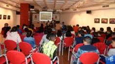 Escolares del Rufino Blanco participan en una lectura comentada del