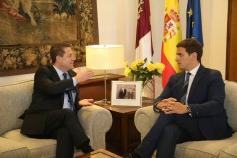 García Page reitera su compromiso de reformar el Estatuto de Autonomía con el consenso de todas las fuerzas políticas
