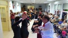 Gran afluencia de público a la Feria de Abril del centro de mayores de Cabanillas