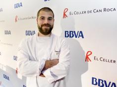 Un joven de Guadalajara, candidato a las becas de BBVA en El Celler de Can Roca