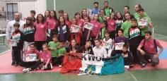 Lluvia de medallas para el Taekwondo Cabanillas en Trillo y Alovera
