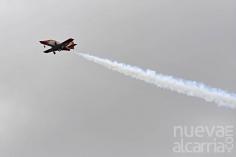 La Patrulla Águila realiza pruebas de vuelo sobre Guadalajara de cara al Desfile de las Fuerzas Armadas