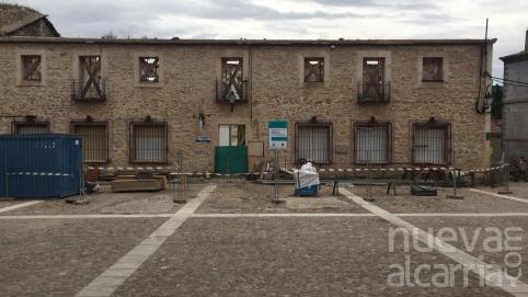 La recuperación de la Casa Consistorial de Palazuelos estará lista para noviembre