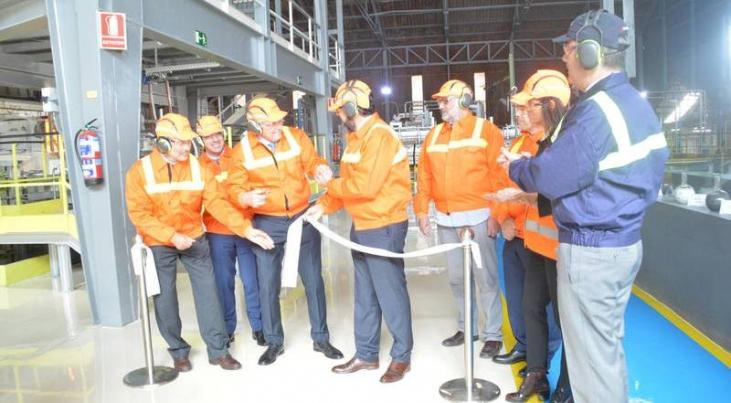 Verallia inaugura en su planta de Azuqueca el mayor horno de vidrio del mundo