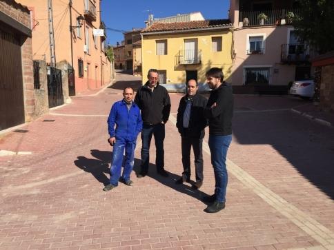 Diputación invierte más de 145.000 euros en varios pueblos de la zona de Molina