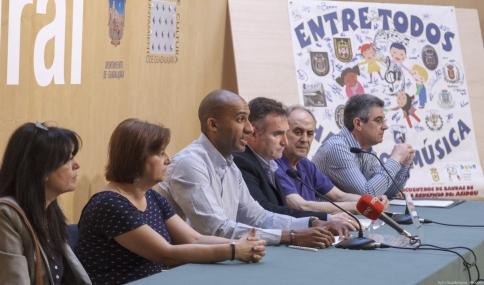 Este sábado, en el Buero, concierto solidario a favor ASIDGU por la Federación de Bandas de Guadalajara