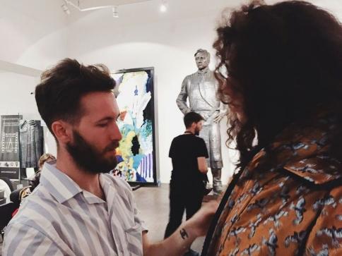 La moda española sorprende en Georgia con el marchamalero Juan Carlos Pajares