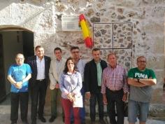 La Diputación inaugura las obras de reforma del Ayuntamiento de Mazuecos