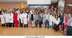 El Hospital de Guadalajara celebró el acto oficial de entrega de certificados a los 34 residentes que finalizaban su estancia formativa
