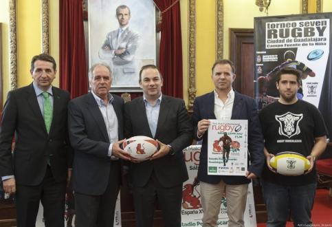 El rugby se instala por unos días en Guadalajara