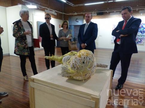 Diputación inaugura la exposición 'El Mundo Fluye' de Fundación ONCE
