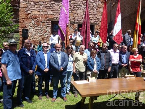 Vecinos de siete municipios participan en la Romería a la Virgen de Monstesinos de Cobeta