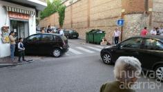Susto en la calle Marqués de Santillana