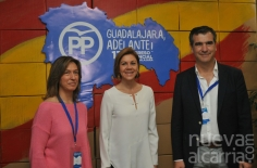 Cospedal asiste a la reeleción de Guarinos como presidenta provincial del PP