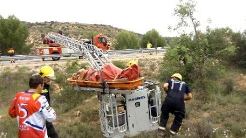 Intenso domingo para los bomberos del Consorcio Provincial