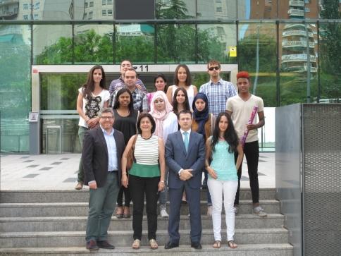 Quince jóvenes completan el Curso de Técnico de Administración y Finanzas