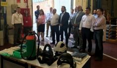 La Junta felicita a Exide Technologies por su 50 aniversario y agradece su apuesta por la provincia