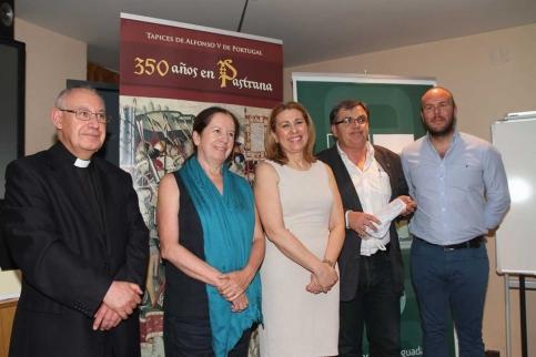 Los actos del 350 aniversario de la llegada de los tapices a la Colegiata de Pastrana llega al Centro San José