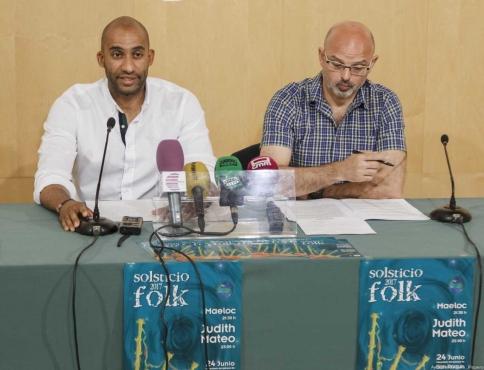 Maeloc y Judith Mateo, protagonistas en el Solsticio Folk