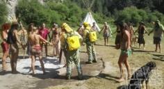 El Alto Tajo, lugar elegido por una 'tribu' que adora el fuego para realizar su retiro espiritual