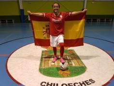 La jugadora del Chiloeches Noelia de las Heras, convocada con España