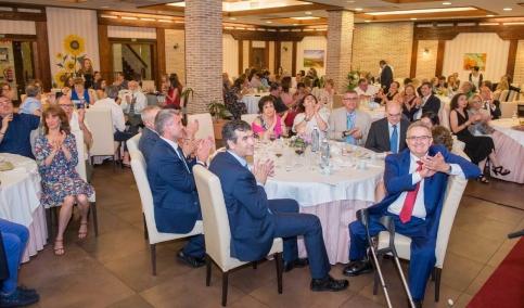 Confraternización en la cena de la patrona de Sanidad en Guadalajara