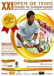 Ya están abiertas las inscripciones para el XXI Open de Tenis Ciudad de Guadalajara