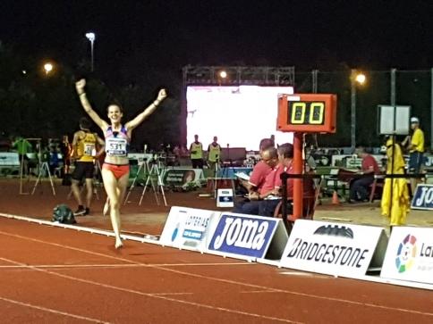 Ana Lozano, campeona de España de 5.000 metros